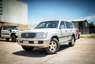 2004 Toyota Landcruiser UZJ100R GXL (4x4) Warm Silver 5 Speed Automatic Wagon.
