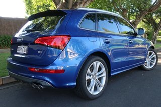 2014 Audi SQ5 8R MY15 TDI Tiptronic Quattro Blue & Black 8 Speed Sports Automatic Wagon.