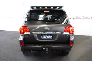 2013 Toyota Landcruiser VDJ200R MY13 GXL (4x4) Graphite 6 Speed Automatic Wagon