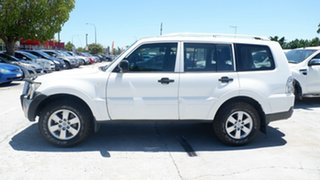2007 Mitsubishi Pajero NS GLX White 5 Speed Manual Wagon