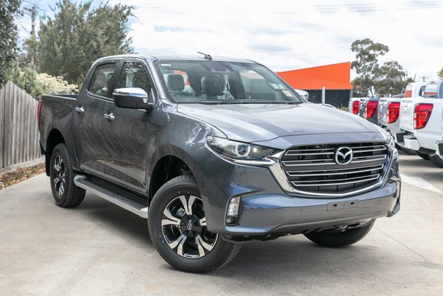 Demo Mazda BT-50 TFS40J GT Mornington, 2020 Mazda BT-50 TFS40J GT Rock Grey 6 Speed Sports Automatic Utility