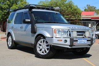 2009 Land Rover Discovery 3 Series 3 09MY SE Silver 6 Speed Sports Automatic Wagon.
