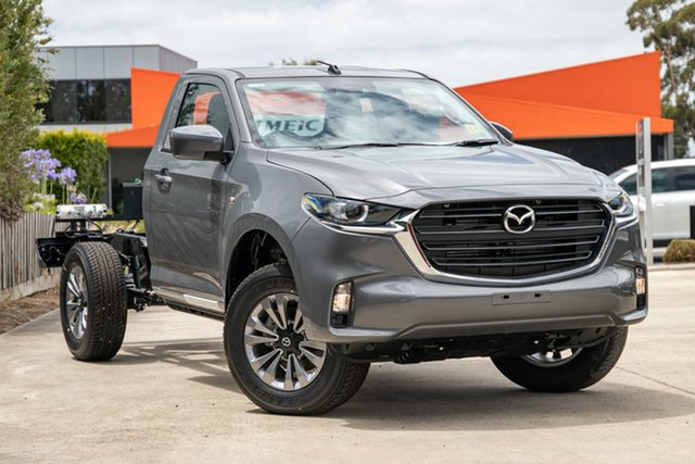 New Mazda BT-50 Mornington, 2020 Mazda BT-50 BT-50 B 6AUTO 3.0L SINGLE CHASSIS XT 4X4 Concrete Grey Cab Chassis