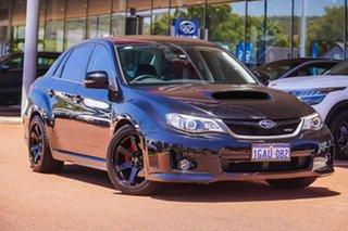 2013 Subaru Impreza G3 MY14 WRX AWD Black 5 Speed Manual Sedan.