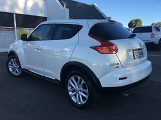 2013 Nissan Juke F15 MY14 Ti-S AWD White 1 Speed Constant Variable Hatchback