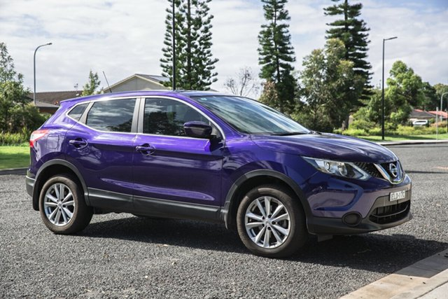 Used Nissan Qashqai J11 ST Port Macquarie, 2017 Nissan Qashqai J11 ST Blue 6 Speed Manual Wagon