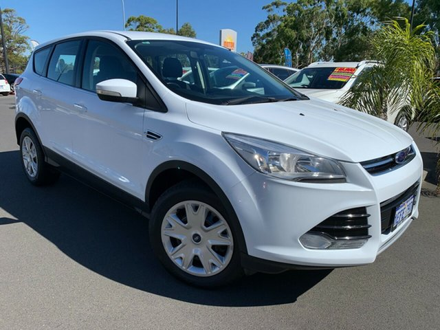 Used Ford Kuga TF Ambiente AWD Bunbury, 2013 Ford Kuga TF Ambiente AWD White 6 Speed Sports Automatic Wagon