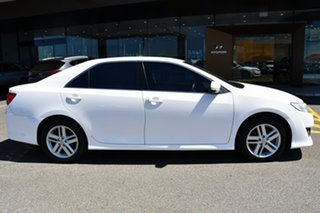 2012 Toyota Camry ASV50R Atara R White 6 Speed Sports Automatic Sedan
