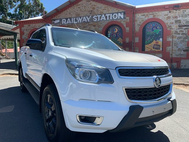 Used Holden Colorado RG MY16 Z71 Crew Cab Cheltenham, 2016 Holden Colorado RG MY16 Z71 Crew Cab White 6 Speed Sports Automatic Utility