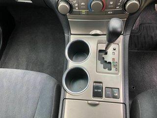 2008 Toyota Kluger GSU45R KX-R AWD Grey 5 Speed Sports Automatic Wagon