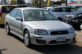 2003 Subaru Liberty B3 MY03 Heritage AWD Silver 4 Speed Automatic Sedan.