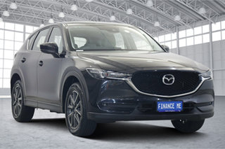 2018 Mazda CX-5 KF4WLA GT SKYACTIV-Drive i-ACTIV AWD Black 6 Speed Sports Automatic Wagon.