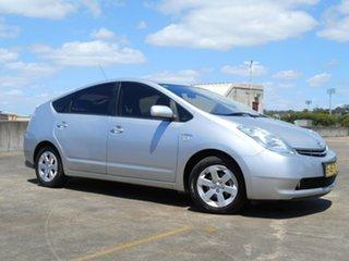 2009 Toyota Prius NHW20R I-Tech Silver 1 Speed Constant Variable Liftback Hybrid.