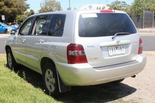 2005 Toyota Kluger MCU28R CV (4x4) Silver 5 Speed Automatic Wagon