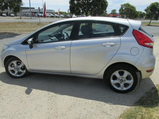 2010 Ford Fiesta WS LX Silver 4 Speed Automatic Hatchback