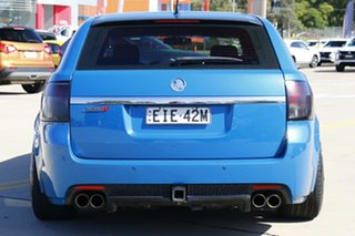 2012 Holden Commodore VE II MY12 SS-V Redline Edition Blue 6 Speed Manual Sportswagon