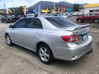 2010 Toyota Corolla ZRE152R Conquest Silver 4 Speed Automatic Sedan.