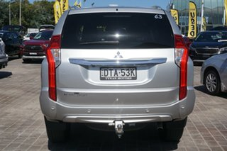 2017 Mitsubishi Pajero Sport QE MY17 GLS Silver 8 Speed Sports Automatic Wagon