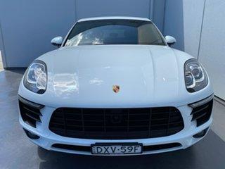 2014 Porsche Macan 95B MY15 S PDK AWD Diesel White 7 Speed Sports Automatic Dual Clutch Wagon.