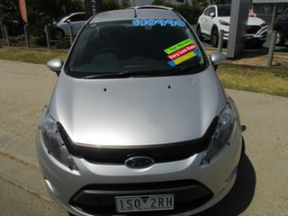 2010 Ford Fiesta WS LX Silver 4 Speed Automatic Hatchback.