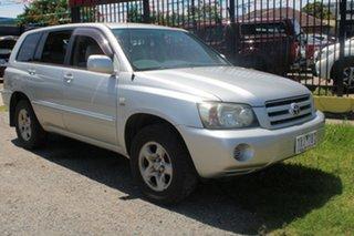 2005 Toyota Kluger MCU28R CV (4x4) Silver 5 Speed Automatic Wagon.