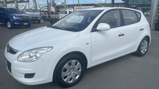 2008 Hyundai i30 FD SX Crystal White 4 Speed Automatic Hatchback