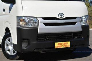 2015 Toyota HiAce TRH201R LWB White 5 Speed Manual Van
