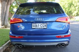 2014 Audi SQ5 8R MY15 TDI Tiptronic Quattro Blue & Black 8 Speed Sports Automatic Wagon