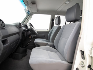 2019 Toyota Landcruiser VDJ79R GXL (4x4) White 5 Speed Manual Double Cab Chassis