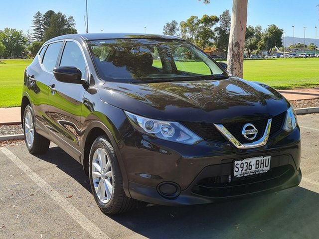 Used Nissan Qashqai J11 ST Nailsworth, 2015 Nissan Qashqai J11 ST Black 1 Speed Constant Variable Wagon