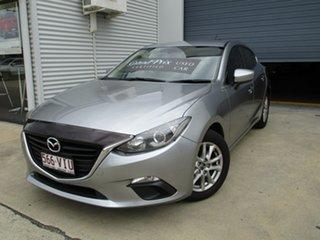 2014 Mazda 3 BM5478 Maxx SKYACTIV-Drive Silver 6 Speed Sports Automatic Hatchback.