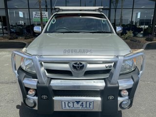 2006 Toyota Hilux GGN15R 06 Upgrade SR5 Silver 5 Speed Automatic Dual Cab Pick-up.