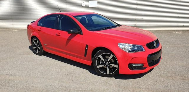 Used Holden Commodore VF II MY16 SV6 Black Elizabeth, 2016 Holden Commodore VF II MY16 SV6 Black Red 6 Speed Sports Automatic Sedan