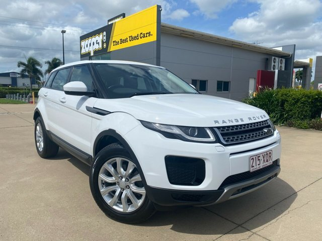 Used Land Rover Range Rover Evoque L538 MY18 TD4 150 SE Townsville, 2017 Land Rover Range Rover Evoque L538 MY18 TD4 150 SE White 9 Speed Sports Automatic Wagon