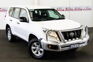 2017 Toyota Landcruiser Prado GDJ150R MY16 GX (4x4) Glacier White 6 Speed Automatic Wagon.