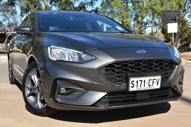 Used Ford Focus SA 2019.25MY ST-Line St Marys, 2019 Ford Focus SA 2019.25MY ST-Line Grey 8 Speed Automatic Hatchback