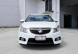 2013 Holden Cruze JH Series II MY14 SRi-V White 6 Speed Manual Sedan.