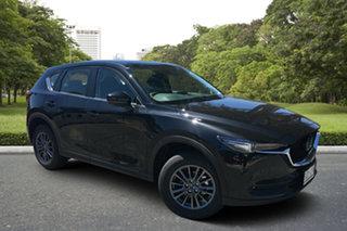 2020 Mazda CX-5 KF4WLA Maxx SKYACTIV-Drive i-ACTIV AWD Sport Jet Black 6 Speed Sports Automatic.