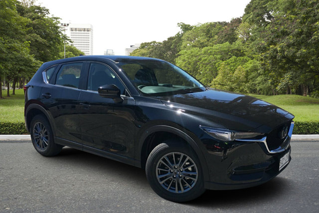 Demo Mazda CX-5 KF4WLA Maxx SKYACTIV-Drive i-ACTIV AWD Sport Paradise, 2020 Mazda CX-5 KF4WLA Maxx SKYACTIV-Drive i-ACTIV AWD Sport Jet Black 6 Speed Sports Automatic