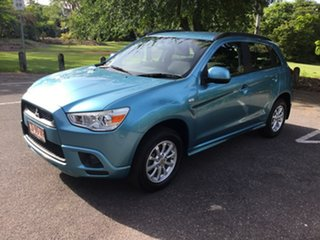 2012 Mitsubishi ASX XA MY12 2WD Blue 6 Speed Constant Variable Wagon