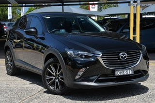 2016 Mazda CX-3 DK2W7A sTouring SKYACTIV-Drive Black 6 Speed Sports Automatic Wagon.