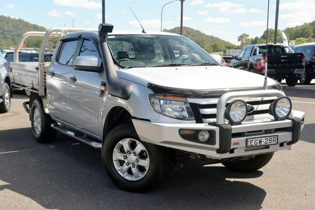 Used Ford Ranger PX XL West Gosford, 2014 Ford Ranger PX XL Silver 6 Speed Sports Automatic Utility