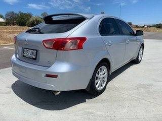 2011 Mitsubishi Lancer CJ MY11 SX Sportback Silver 5 Speed Manual Hatchback