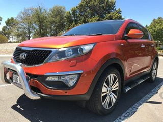 2014 Kia Sportage SL MY14 Platinum AWD Orange 6 Speed Sports Automatic Wagon