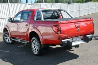 2013 Mitsubishi Triton MN MY13 GLX-R Double Cab Red 5 Speed Manual Utility.
