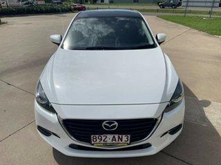 2018 Mazda 3 White Automatic Hatchback