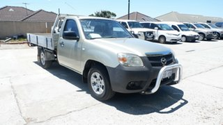 2008 Mazda BT-50 UNY0W3 DX 4x2 Silver 5 Speed Manual Cab Chassis.