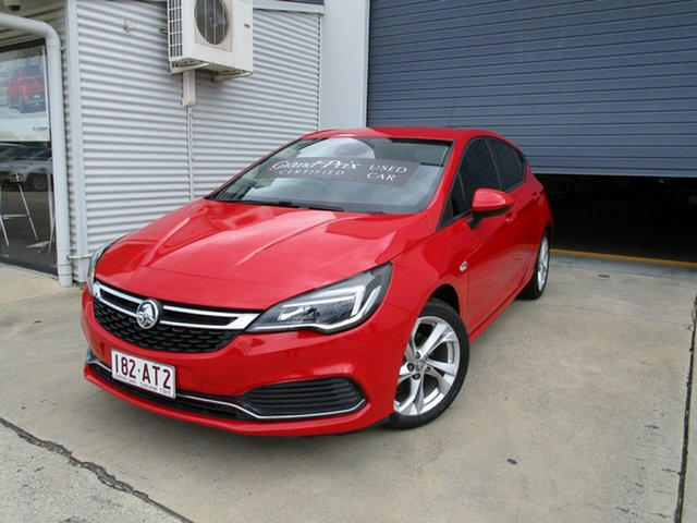 Used Holden Astra BK MY17 RS Caboolture, 2016 Holden Astra BK MY17 RS Red 6 Speed Sports Automatic Hatchback