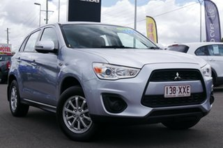 2013 Mitsubishi ASX XB MY13 2WD Silver 6 Speed Constant Variable Wagon.