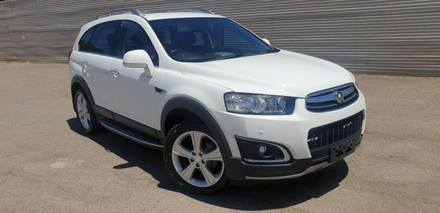 Used Holden Captiva CG MY14 7 AWD LTZ Elizabeth, 2013 Holden Captiva CG MY14 7 AWD LTZ White 6 Speed Sports Automatic Wagon